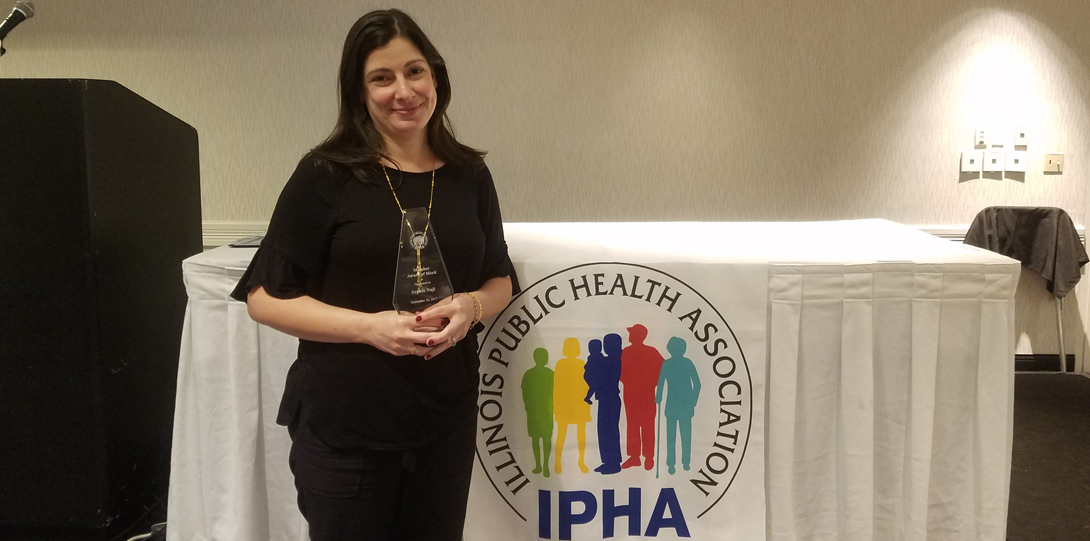 Sophie Naji - IPHA Member Award of Merit Winner