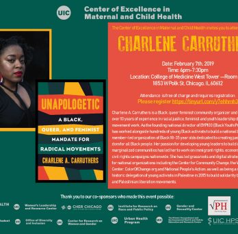 Charlene Carruthers Flyer